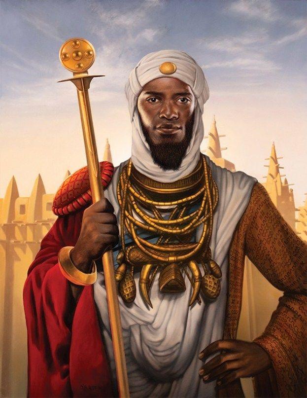 Mansa Musa (Musa 1), the Emperor of Mali